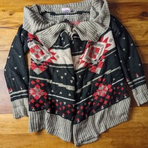 Romeo and Juliet Couture wrap sweater cardigan